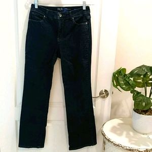 Style & Co. Bootleg Tummy Control Jeans Size 10P